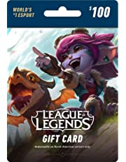 League of Legends $100 Gift Card – 15000 Riot Points - NA Server Only [Online Game Code]