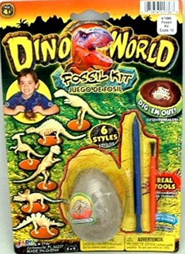 - Dino World Fossil Kit - 6 Styles to Choose From