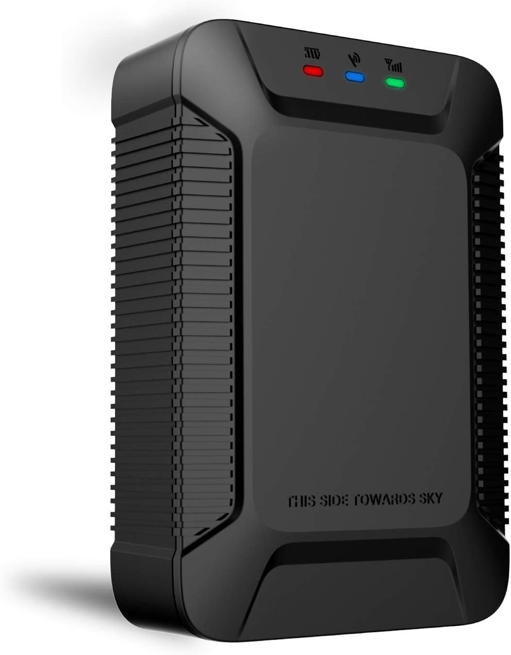 X3 GPS Tracker Localizador con Monitor de Aplicación, Lncoon Rastreador GPS Antirrobo de SMS Seguimiento en Tiempo Real para Coche Vehículos Moto Gestión de la Flota(1 año de Servicio de Plataforma)