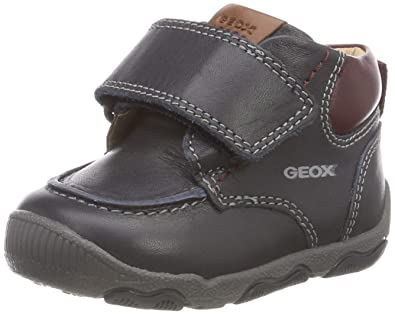 e46b159b4a744 Geox New Balu Boy 16 All Leather Adventure Bootie Ankle Boot, Navy/Bordeaux,