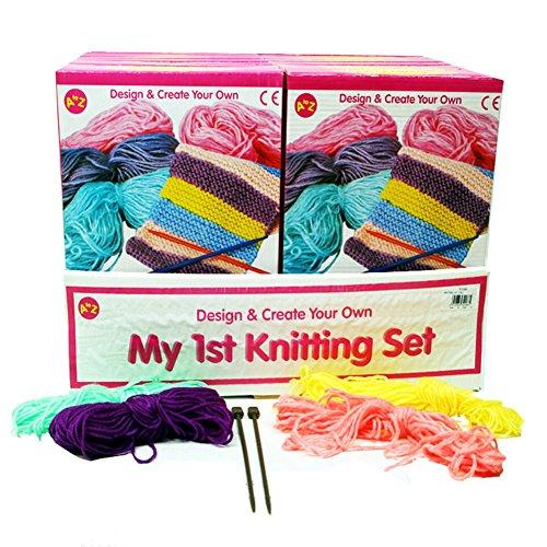 Alex Yarn Craft - Children's 1st Knitting Set
