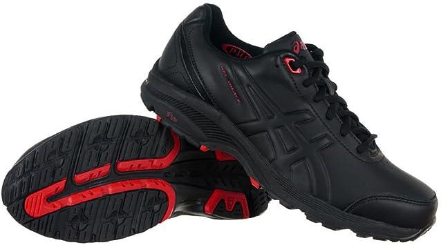 ASICS Gel-Solace (2E) - Zapatillas de Running para Hombre (Q308L), Negro/Negro, UK 6.5 / EU 40.5 / US 7.5 / CM 25.5: Amazon.es: Deportes y aire libre
