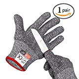Cut Resistant Gloves ,High Performance Level 5 ProtectionSafety Kitchen Cut Gloves
