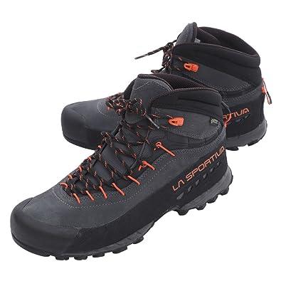 b7f975cfec3 La Sportiva Unisex Adults' Tx4 Mid GTX Carbon/Flame Low Rise Hiking Boots:  Amazon.co.uk: Shoes & Bags
