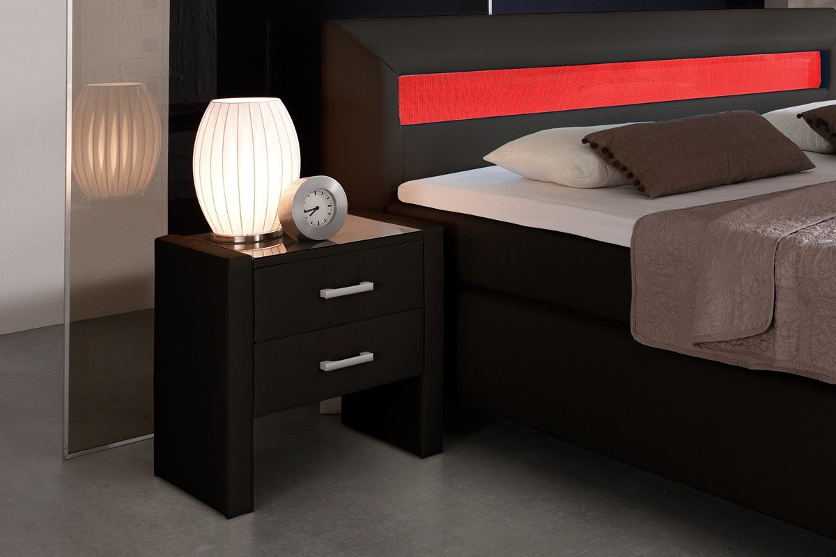 nachttisch boxspring gallery of msschuon boxspring. Black Bedroom Furniture Sets. Home Design Ideas