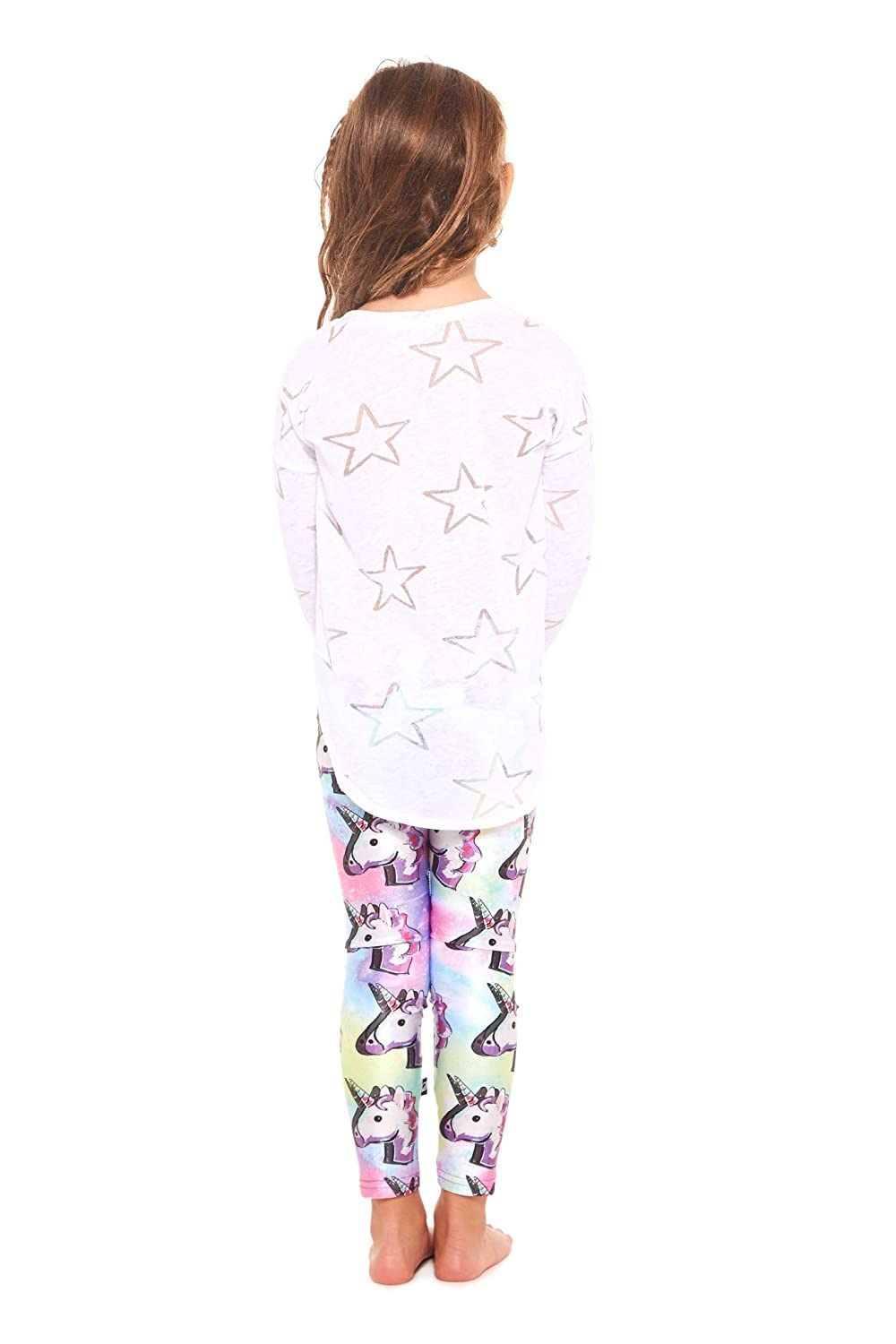 Workout Clothes for Kids Terez Leggings for Girls and Boys Fun Rainbow Unicorn Pants