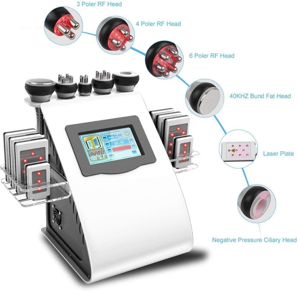 マッサージ、フェイスケアボディスリミングシェーピング治療装置の機械、40Kプロフェッショナル脂肪マッサージ、美容R/F多極真空ツールリフティングスキンをシェーピングボディ、スキンケアSPAは、脂肪、脂肪燃焼しわ除去機を削除します