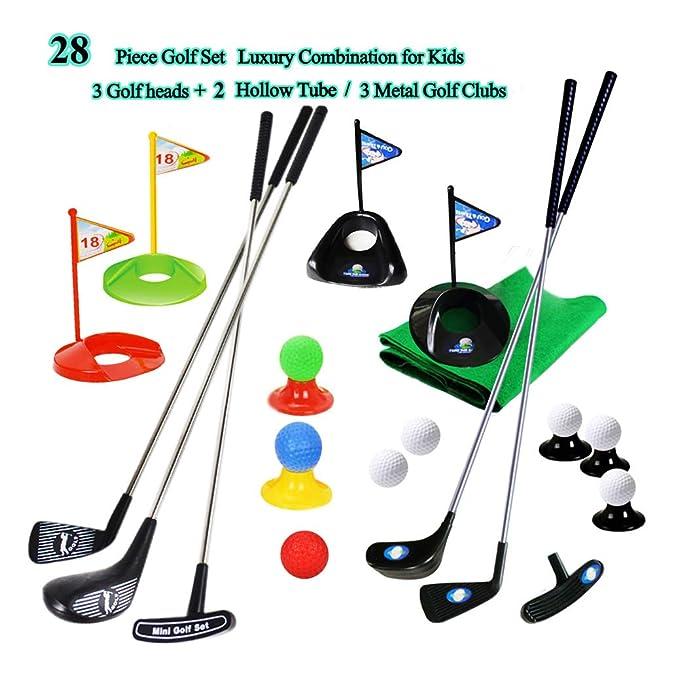 Juego de Club de Golf para niños Estera de la Bandera de ...