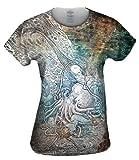 """Yizzam- Louis Rhead - """"Mermaid Octopus"""" -TShirt- Womens Shirt"""