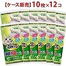 【ケース販売】1週間消臭・抗菌デオトイレ 取りかえ専用 消臭・抗菌シート 10枚×12袋