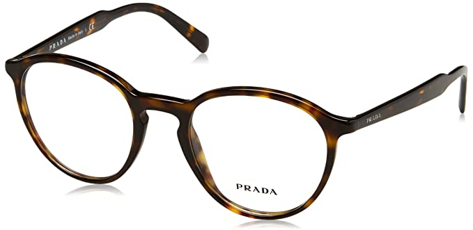 63121801dbbd7 Prada Men s PR 13TV Eyeglasses Havana 49mm  Amazon.in  Clothing ...