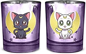 Sailor Moon Candle, Luna & Artemis Jar/Home Decor/Decorative Candles