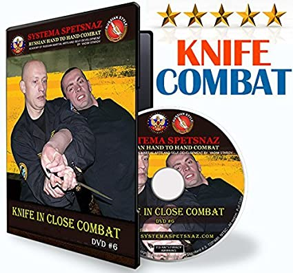 Amazon.com: Self Defense DVD # 6 – Kinfe en Close Combat ...