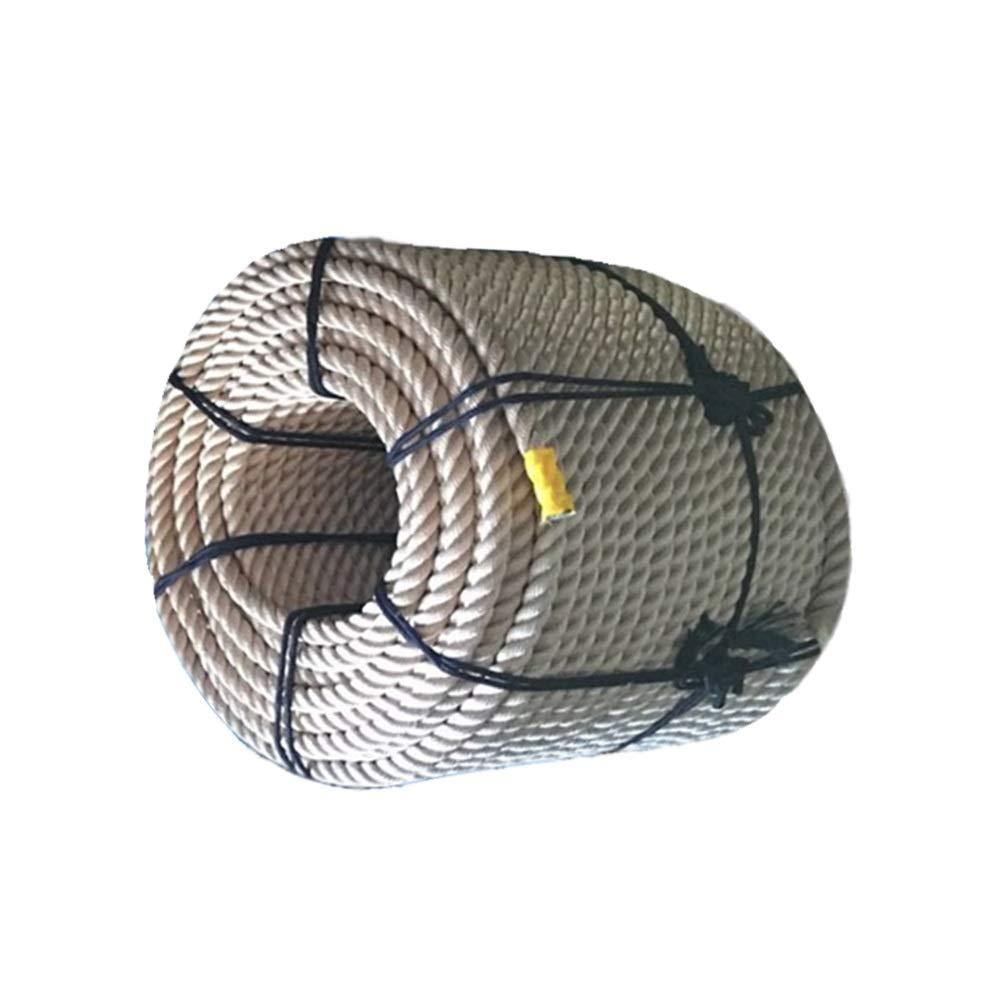 LIINA ロープ 16mm高高度安全ロープ、フォトクロミック耐摩耗性酸および耐アルカリ性耐腐食性滑り止め防水耐候性 (Size : 100m)  100m