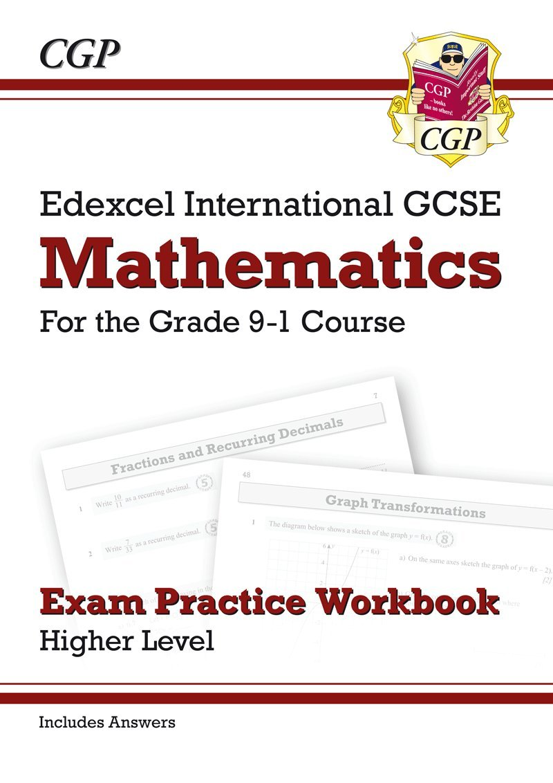 Workbooks practice workbook : New Edexcel International GCSE Maths Exam Practice Workbook ...