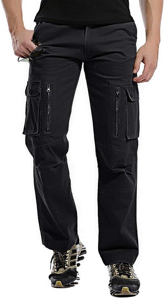 BIRAN Pantalones De Camuflaje para Hombre Pantalones Hombre ...