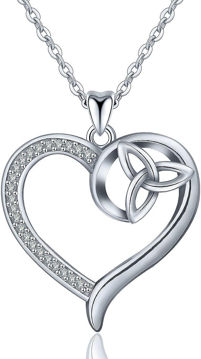 MMC Silver Pendants Evil Eye Black White Dazzling Cubic Zircon Necklaces for Womens