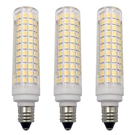 E11 Led Bulb Dimmable Daylight White 6000k Light Bulbs 10w 100w Halogen Bulbs Equivalent Mini Candelabra Base Ac120v E11 Led Light Bulbs For