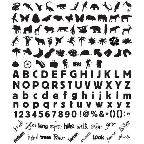 MAKING MEMORIES Slice Design Card Machine, Jungle (Jungle Scrapbooking)