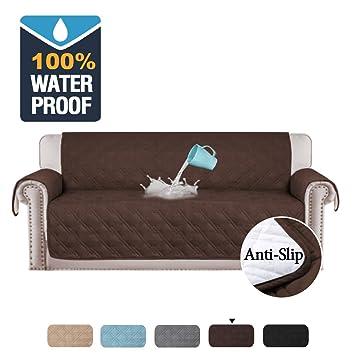 Amazon.com: Funda de sofá de microfibra de alta calidad para ...