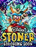 Stoner Coloring Book: Adult Coloring Book of Hippy, Trippy Designs