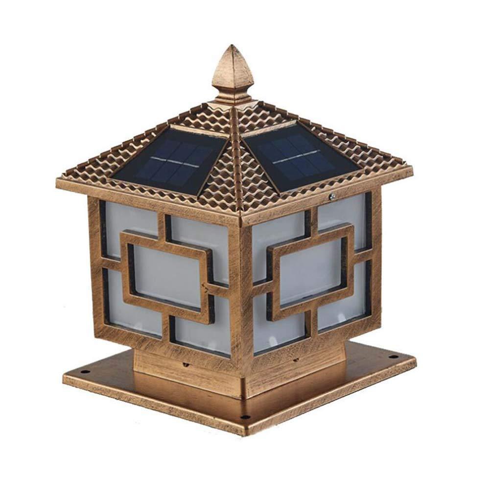 LEDソーラーライト、屋外防水フロアランプ、ガーデンライト風景ライト、ヴィラパークホームスーパーブライト屋外防水ライト (サイズ : 250mm) B07GSX4HDX   250mm