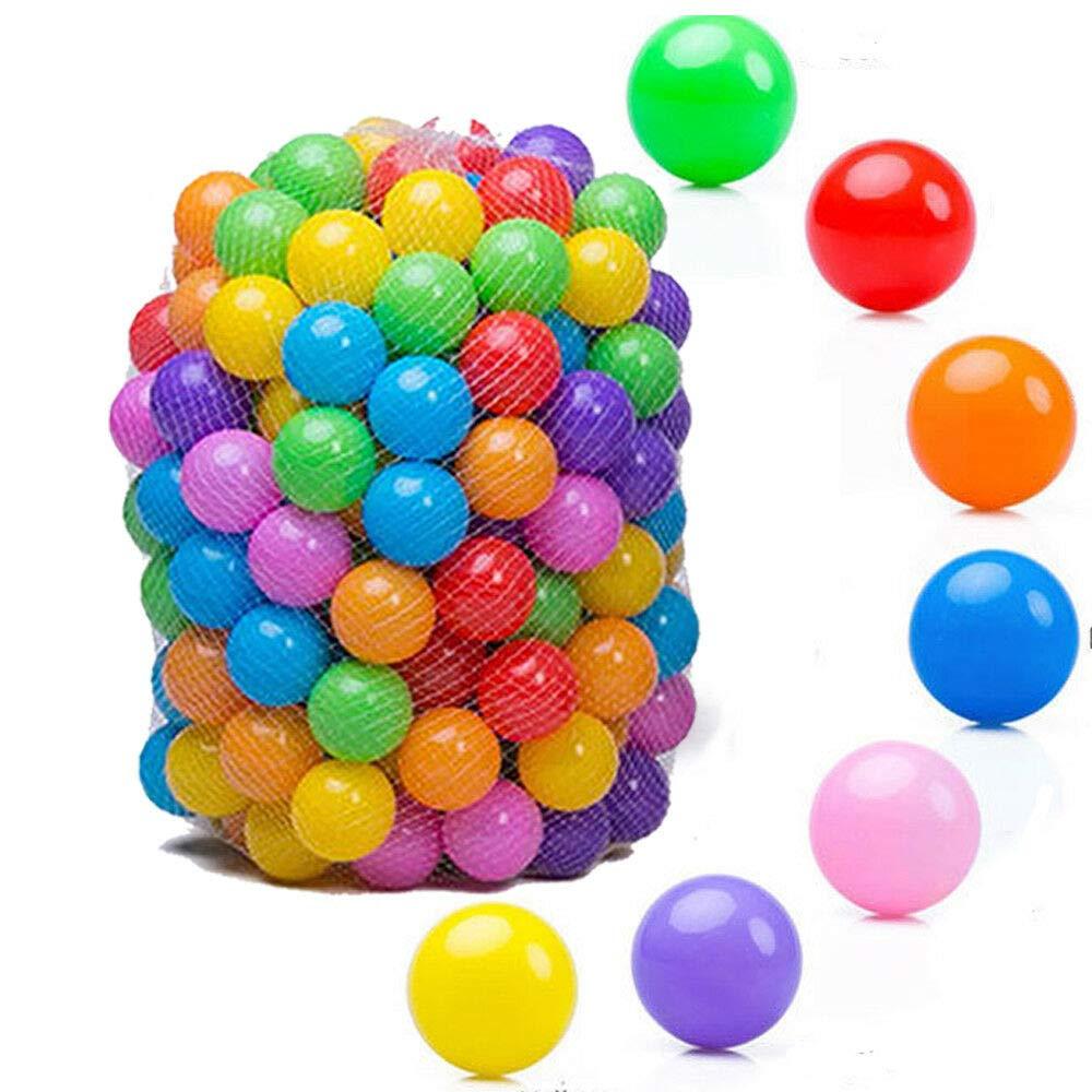 MATAS Quality Baby Kid Pit Toy Swim Pool Fun Colorful Soft Plastic Ocean Ball 100pcs