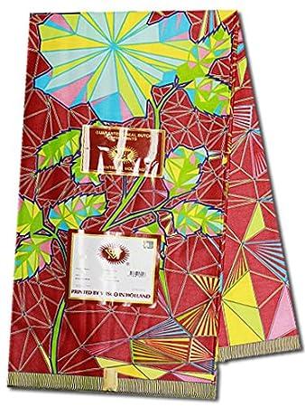 Ganze 6 Meter vlisco Java Holland Print/African Ankara Stoff für ...