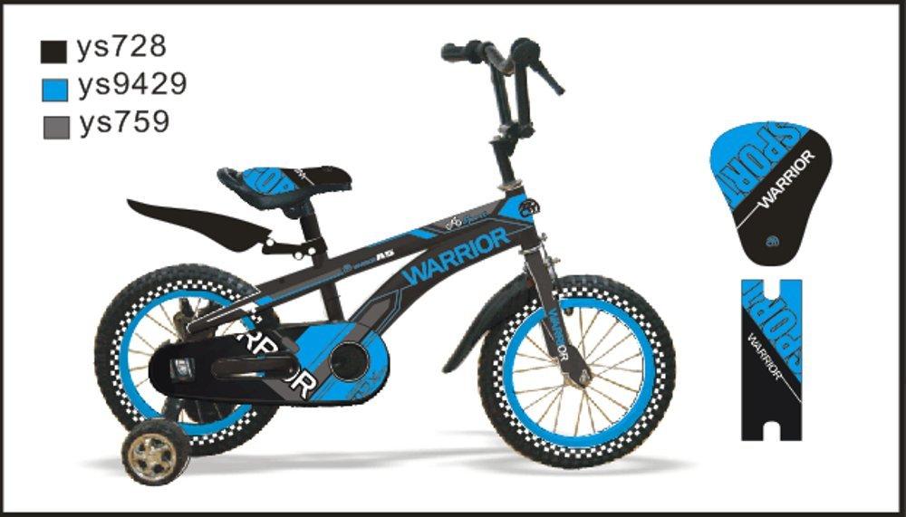 Ctbikes Warrior BMX Kinder Fahrräder blau erhältlich in Größe 45,7 cm