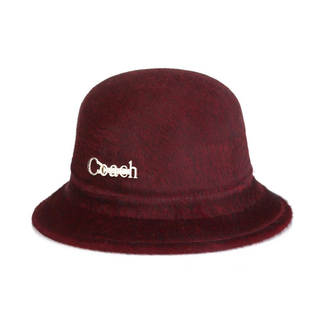 Otoño Damas Nuevo Anti-visón cálido cálido Sombrero de Moda fría ...