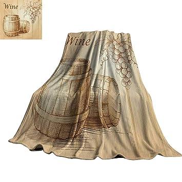 Amazon.com: RenteriaDecor - Manta de madera para todo el año ...