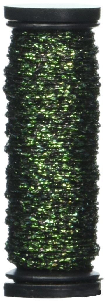 Kreinik Fine Metallic Braid #8 11yd-Red F-003