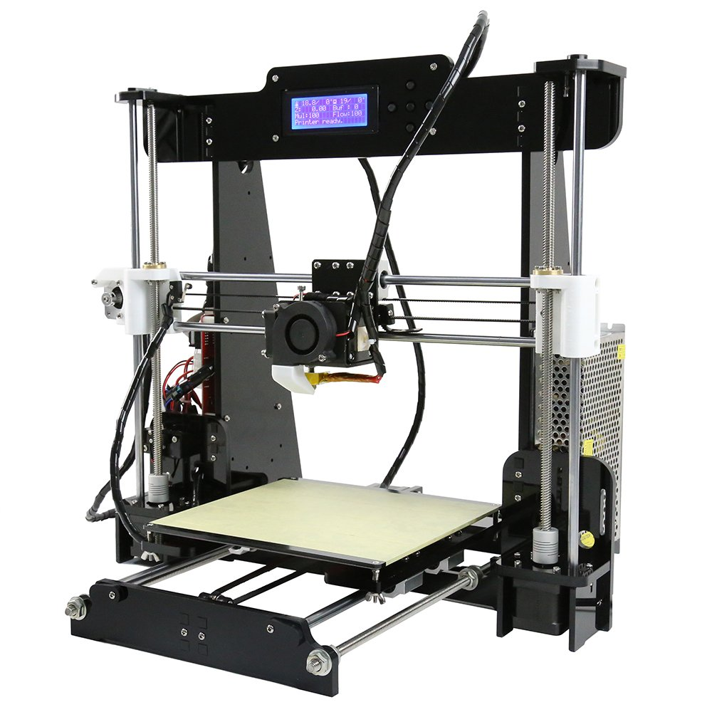 Auto Levelling Anet A8 - Prusa i3 DIY 3D Printer - Prints ABS, PLA, and Lots More! by Anet (Image #5)
