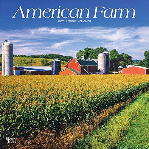2019 American Farm Wall Calendar, Scenic America by ()