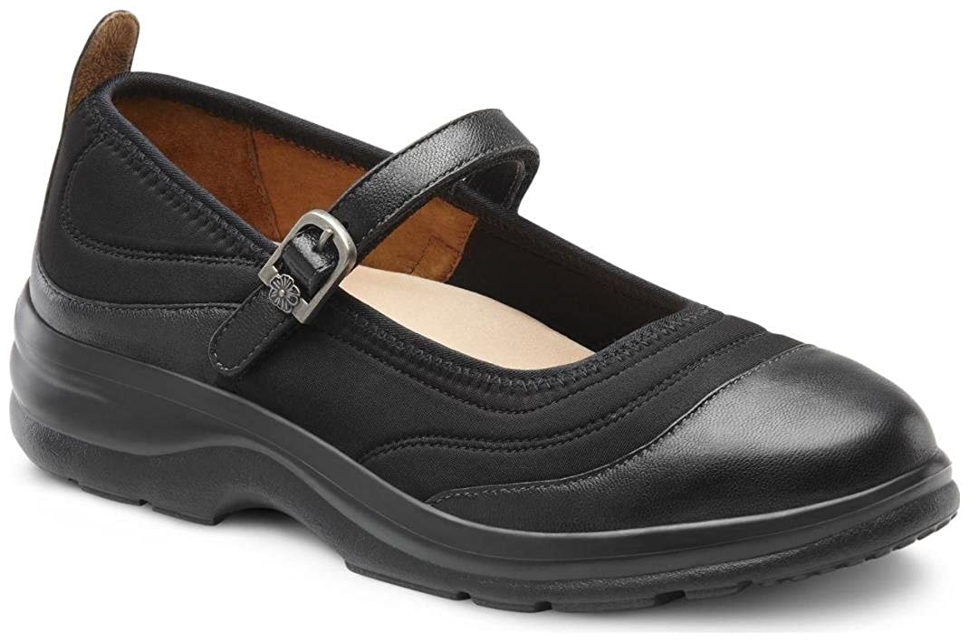 Comfort Womens Flute Lycra Stretchable Diabetic Mary Jane Shoes Dr