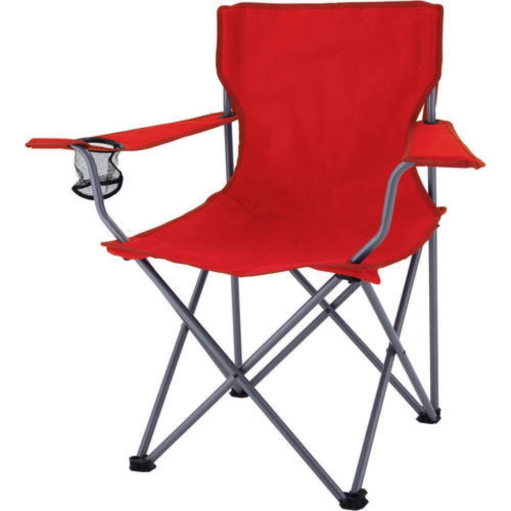 Ozark Trail Folding Camp Chair (レッド) B01MQE3A5R