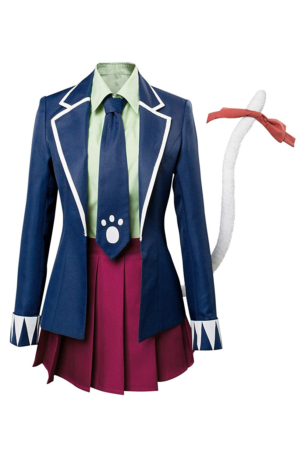 Style 1 XL Xiemushop Anime Cosplay Costume Filles Uniforme Costume Jupe Courte Hommes Anime Cosplay Chemise Tablier courtes Costume