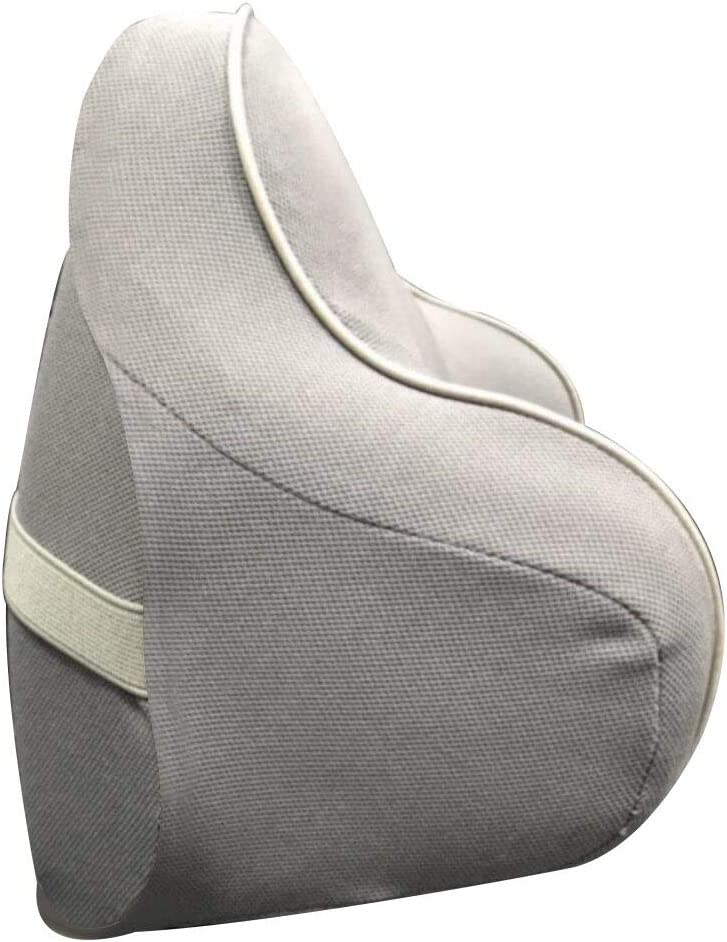 Headrest Pillow Pad for Travel,Home Household,Office LOKLONG Soft Memory Foam Car Neck Pillow for Driving Comfortable,Neck Support Grey