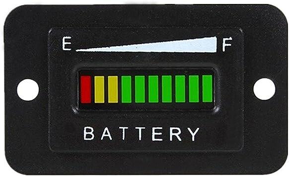 Amazon.com: CocoMocart 48V LED Battery Indicator Meter Gauge for EZGO Club Golf  Cart Yamaha Car Marine Jet Ski: AutomotiveAmazon.com