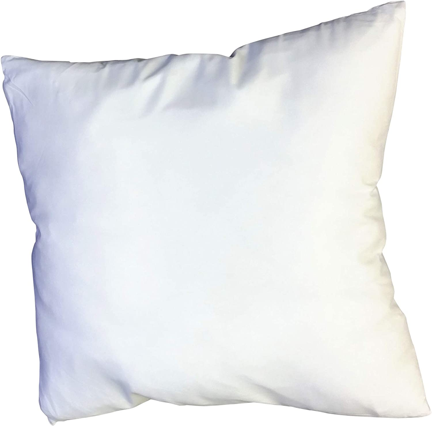 Web Linens Inc Set of 2-18 x 18-95% Feather 5% Down Pillow Insert - 210 TC - Down Proof Shell - Exclusively by Blowout Bedding RN# 142035