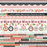 True Love Cardstock Stickers 12''X12''-