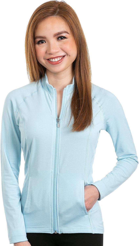 Nozone Lanai Full Zip Sun Protective Shirt UPF 50+
