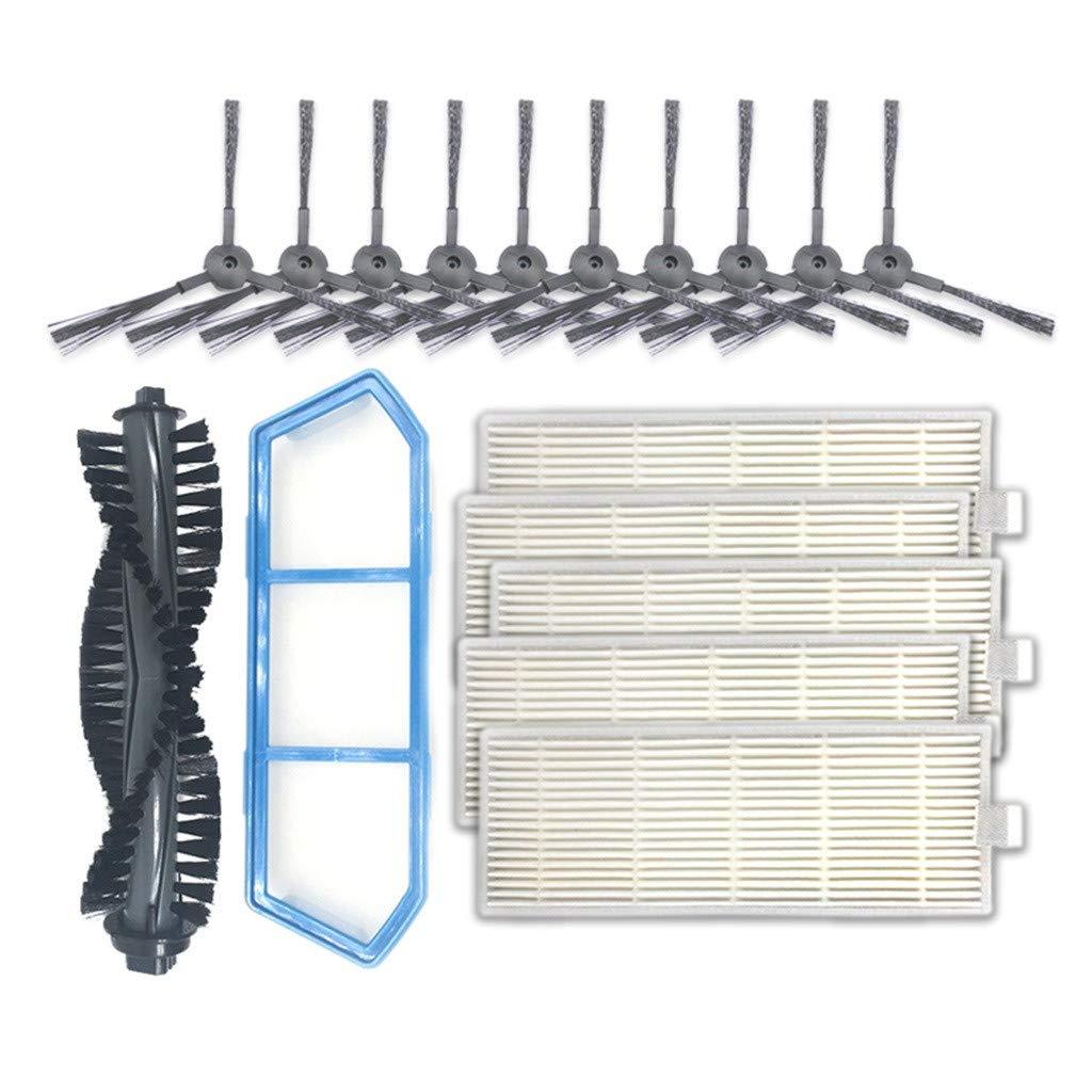 Lomsarsh Seitenb/ürste Prim/ärfilter Filterb/ürste f/ür Ilife A4S Kehrmaschine ersetzen
