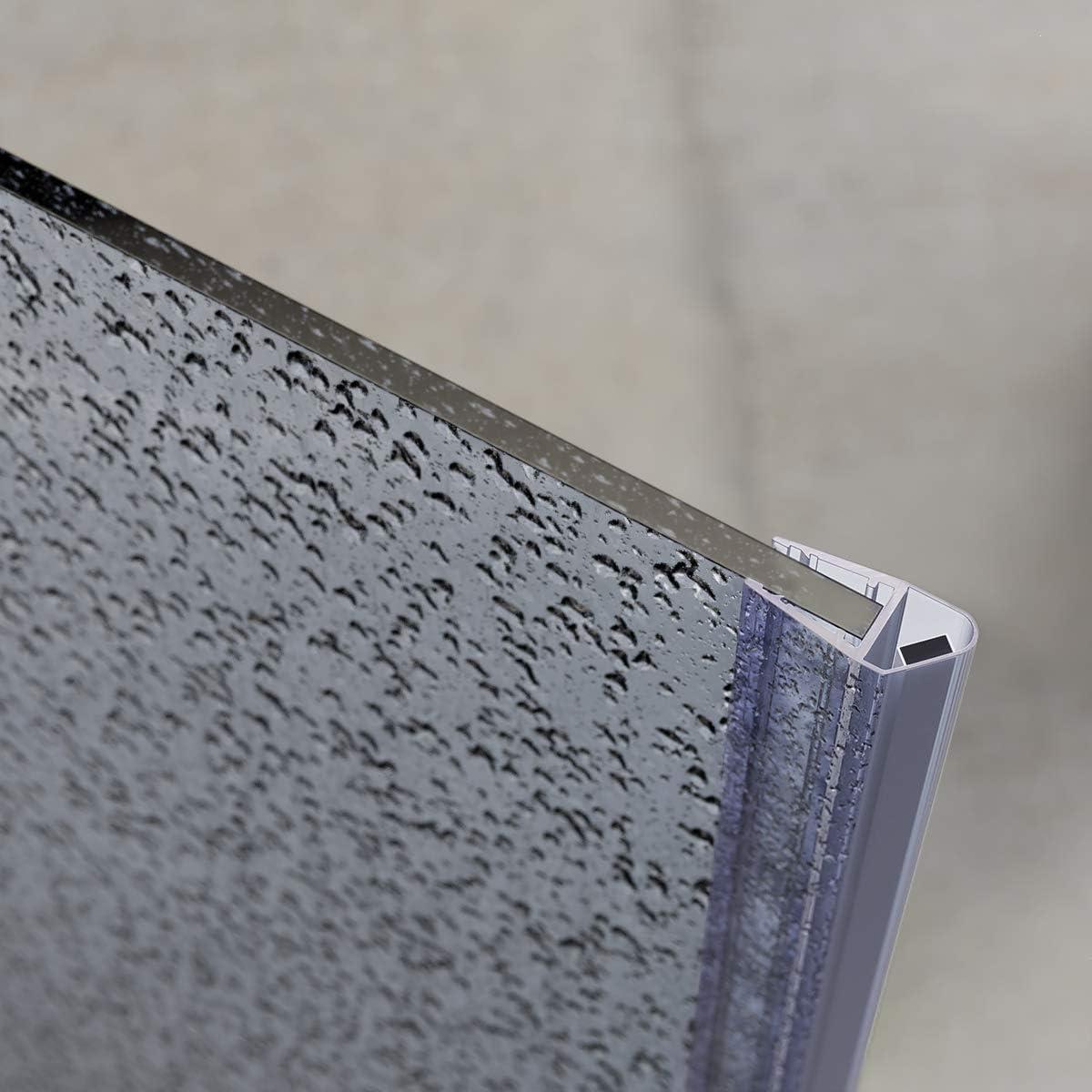 STEIGNER Magnetduschdichtung 186cm Ersatzdichtung f/ür Duscht/ür 1 St/ück UKM04 Glasst/ärke 6//7// 8mm