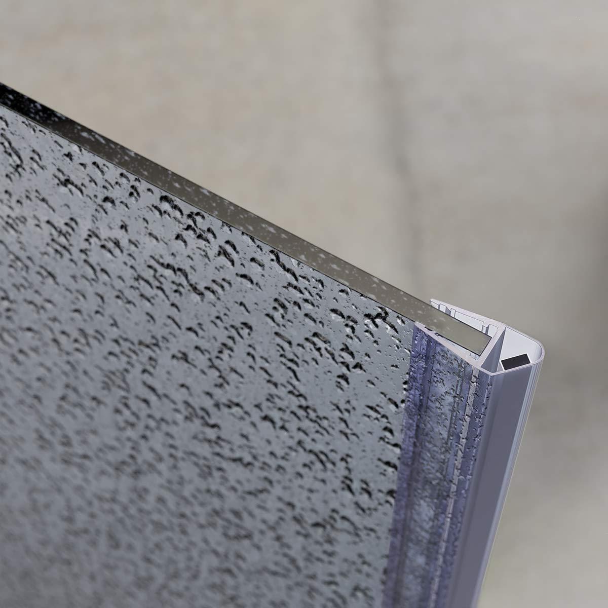 STEIGNER Junta de Cabina de Ducha UKM03 Junta Magn/ética de Mamparas de 3,5 mm 5 mm 195 cm 4 mm