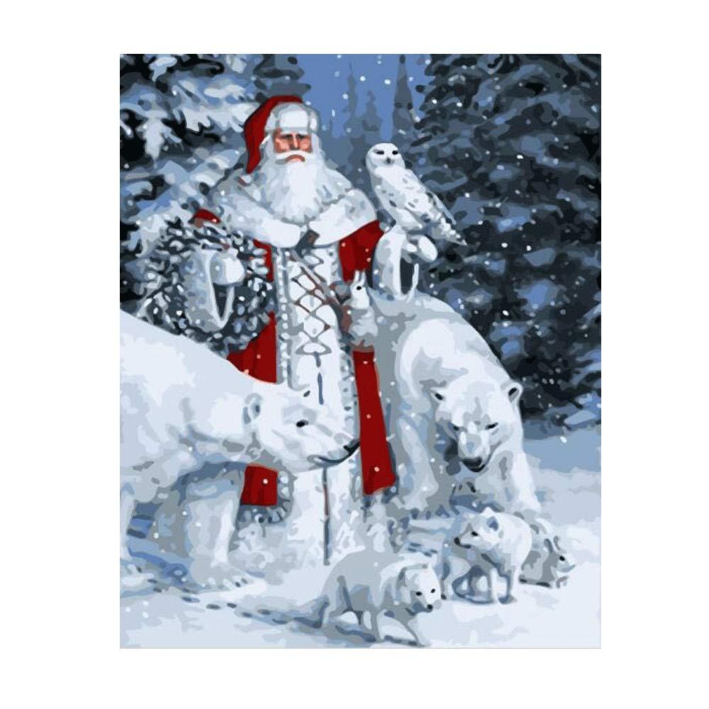 Pintura por Numeros (18625386) navidad