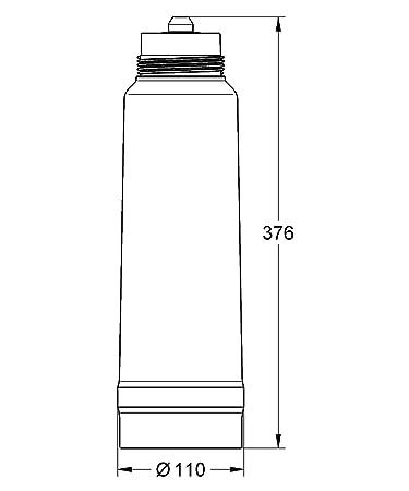 Grohe Blue - Filtro de agua Magnesio + Filtro tamaño XS Ref. 40691001: Amazon.es: Bricolaje y herramientas