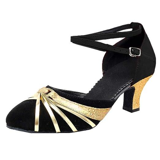 368a1969df1e9 Amazon.com: Heeled Sandals for Women,FAPIZI Lady Rumba Waltz Prom ...