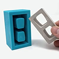 Mini Materials - 1:6 Scale Cinder Block 1pc Mold
