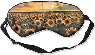 Sunflowers Artistic Pattern Sleep Eyes Masks - Comfortable Sleeping Mask Eye Cover For Travelling Night Noon Nap Mediation Yoga